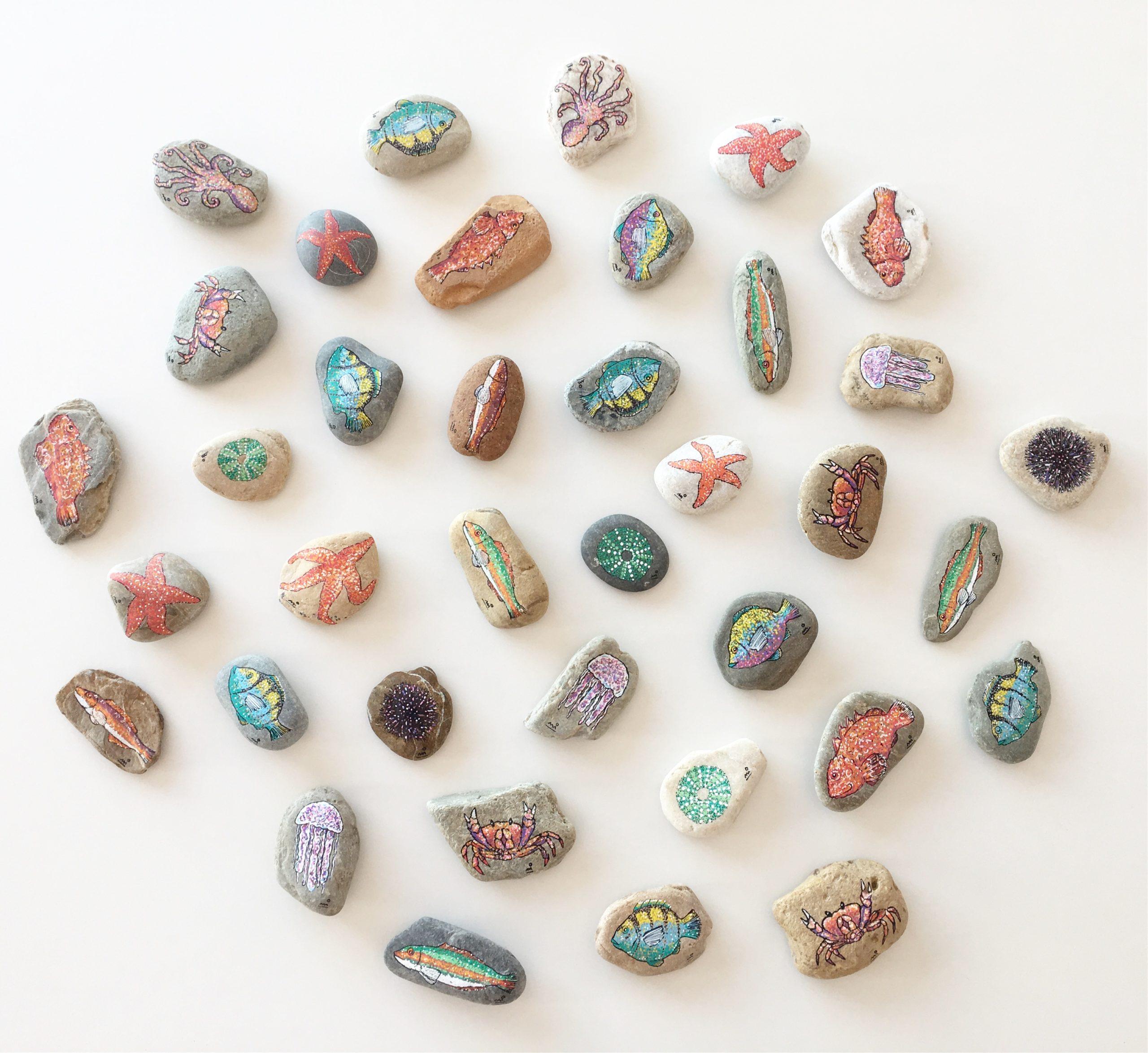 This rocks-imagen-Miquel Alfocea-acrílico sobre piedra